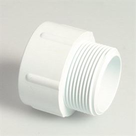 White adaptor bush 2""