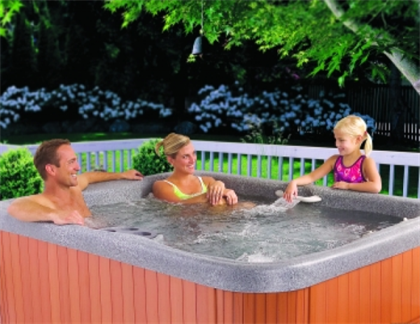 Innsbruck Deluxe 4 Seat Hot Tub, choice of colours