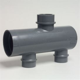 Manifold, 90 mm header pipe 50mm