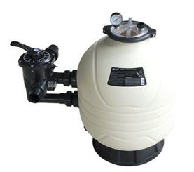 "24"" Mega Plus MFS side mount sand filter"