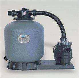 "20"" Mega sand filter system pump, 50 mm + 1 1/2? connection"
