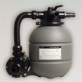 "14"" Mega sand filter system pump 4 m?/h UK plug with pre-filter"