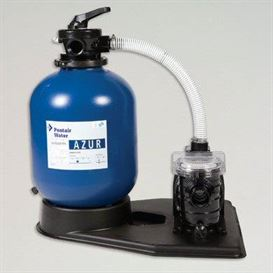 Pentair Azur sand filter system with pump 12m?/h euro/DIN plug