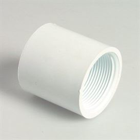White socket, female thread 2""