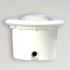 Pool light for concrete pools, 300 watt + connector box