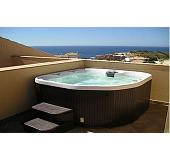 Almeria Deluxe 5 Seat Hot Tub, choice of colours