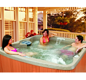 Edinburgh Deluxe 7 Seat Hot Tub, choice of colours